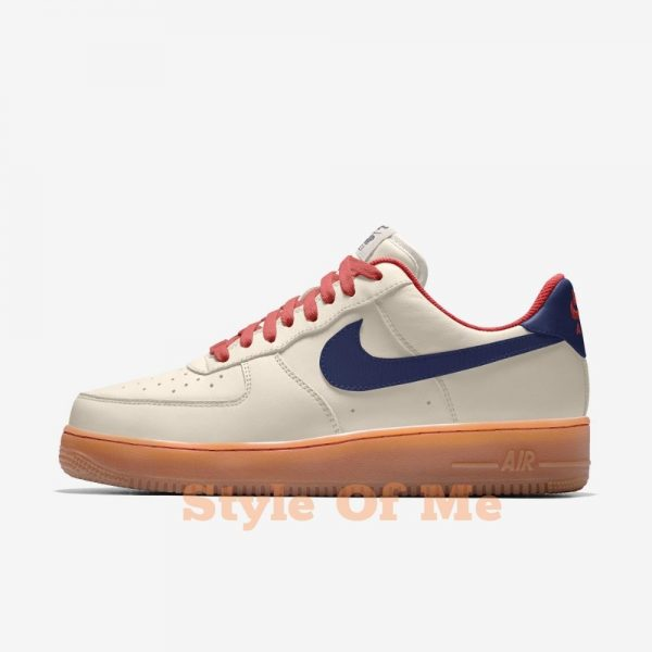 Air Force 1 Low By You - Sail/Blue Void/Gum