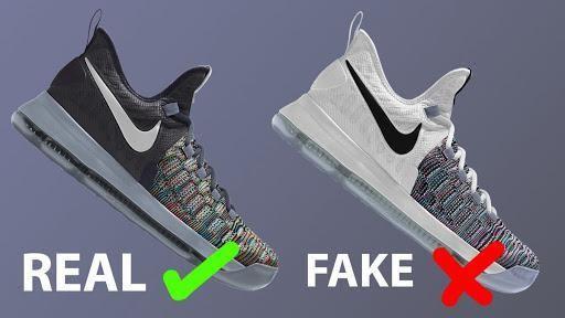 Cách phân biệt giày Nike thật giả