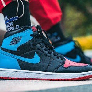 Giày sneaker Nike Air Jordan 1 Unc To Chicago