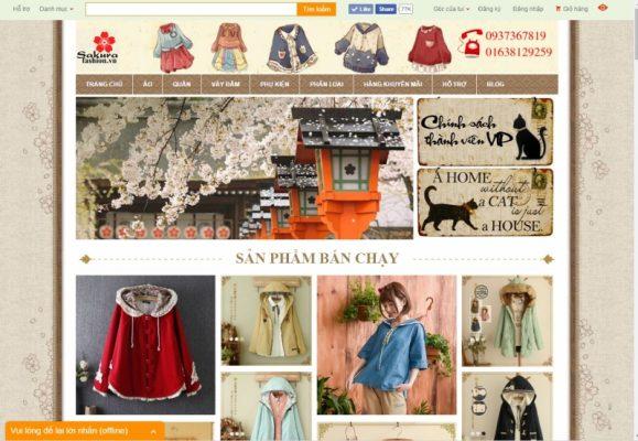 shop quần áo Nhật Bản tại TP Hồ Chí Minh
