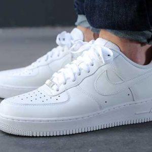 af1 all white