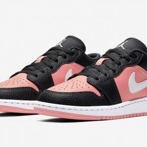 jordan 1 pink low